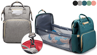 Diaper Changing Backpack - 5 Colours