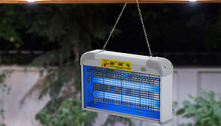 Outsunny LED Hanging Mosquito Zapper Lamp