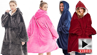 Hooded Snuggle Blanket - 4 Colours