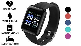 116 Plus Smart Watch & Fitness Tracker - 5 Colours