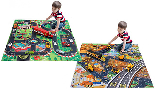 8-Piece Toy Car Set With Mat - 4 Options