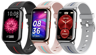 H76 Heart Rate Fitness Tracking Smart Watch - 3 Colours