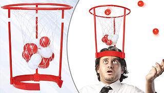 Head Hoop Basketball Party Game