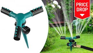 360° Rotating Lawn Sprinkler - 1 or 2