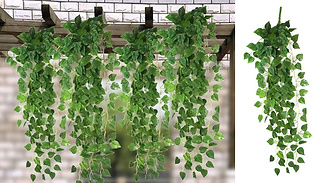 4-Pack of Artificial Hanging Vines