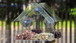 Window Bird Feeder - 1 or 2-Pack