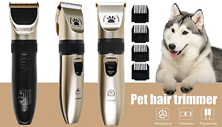 Pet Hair Grooming Trimmer and Clippers