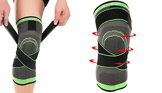 1 or 2-Pack of Breathable Knee Brace Support - 3 Sizes