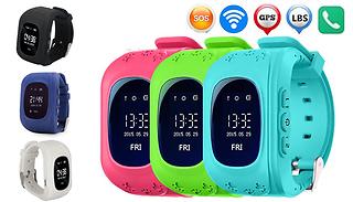Kids' GPS Smart Tracker Watch - 6 Colours