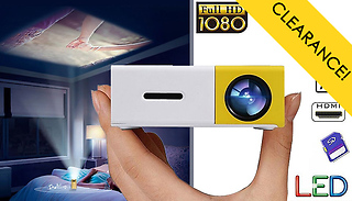 Mini LED Smartphone & PC Projector