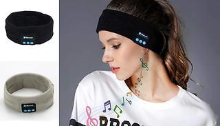Bluetooth Headphones Sports Headband With Microphone - Black or Grey