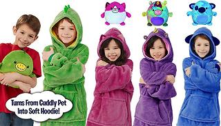 Huggle Pets Snuggie Hoodie - 4 Colours