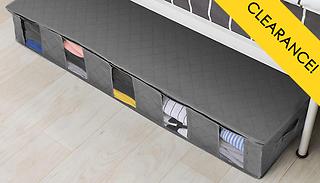 Under Bed Storage Organiser With Clear Window