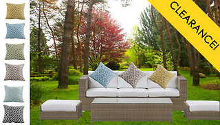 1 or 2-Pack of Patterned Cushion Covers - 6 Colours