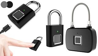 Smart Fingerprint Sensor Padlock - 3 Options
