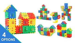 50, 100, 130 or 160-Piece Building Blocks