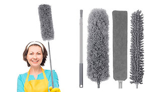 4-in-1 Retractable Dust Cleaning Tool Set