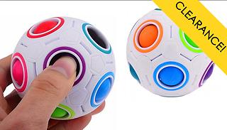 Magic Rainbow Fidget Sensory Puzzle Game