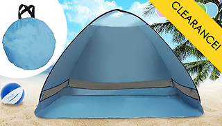 Pop Up Beach Tent - 5 Colours