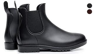 Women's Wellington Chelsea Ankle Boots - 2 Colours & 11 Sizes