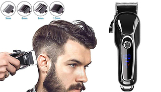 Wireless Precision Hair Clippers Grooming Kit