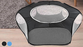 Foldable Indoor & Outdoor Portable Pet Playpen - 2 Colours