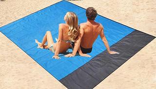 Foldable Beach Blanket - 2 Sizes