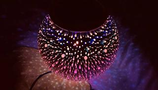 Solar Colour-Changing LED Lantern - 3 Shapes