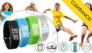 Kids' Smart Fitness Activity Watch - 4 Colours!