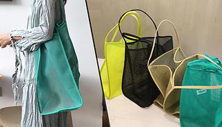 Large Mesh Shopping Bag - 4 Colours