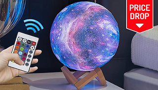 Touch-Control Moon Lamp With Optional Remote - 3 Sizes