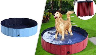 Pet Paddling Pool - 3 Sizes & 2 Colours