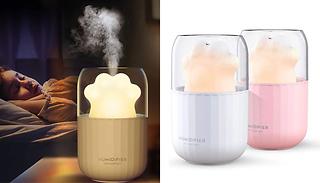 Essential Oil Diffuser & Humidifier With Auto-off Night Light - 2 Colo ...