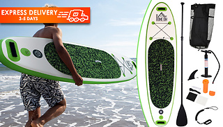 HOMCOM 3-Metre Inflatable Paddle Board with Paddle