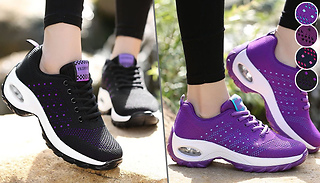 FlyRun Air Mesh Running Trainers - 4 Colours & 6 Sizes