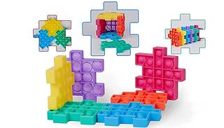 Pop-Up Bubble Magic Cube Puzzle