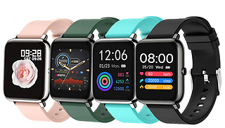 P22 Smart Fitness Tracker Heart Rate Watch - 4 Colours