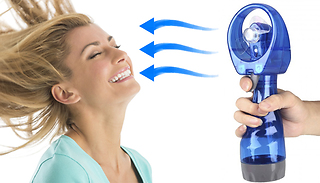 Handheld Portable Cooling Fan & Water Mister