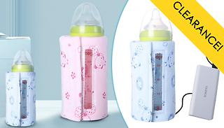 USB Baby Bottle Warmer - 2 Colours