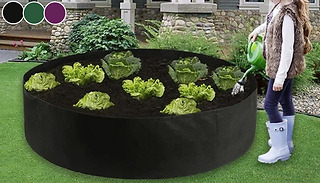 Round Fabric Grow Bag - 3 Colours & 3 Sizes