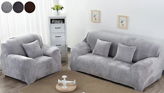 1, 2 or 3-Seater Super-Soft Washable Sofa Protector - 3 Colours